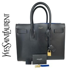 YSL Sac De Jour small in smooth leather